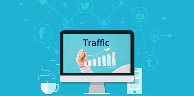Site Traffic Graph