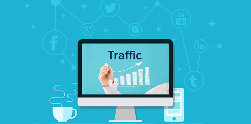 Site Traffic Graph