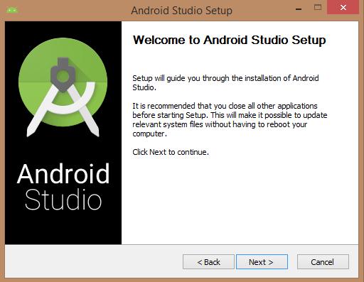 Anroid Studio setup