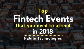 Top Fintech events 2018