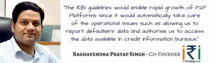 Raghavendra Pratap Singh , i2i Funding