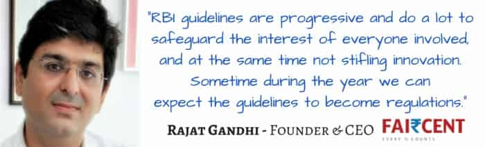 Rajat Gandhi,Faircent